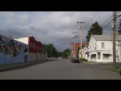 Driving by Kingston,New York