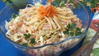 Рецепты салатов  Салат «Анастасия»