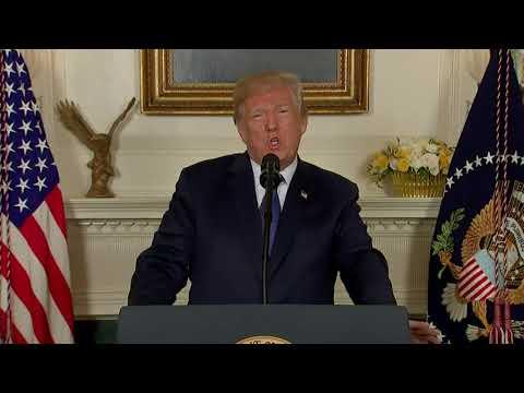 President Trump Addresses the Nation on Syria