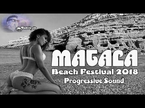 MATALA Beach Festival summer 2018 progressive sound live mix Babis jb