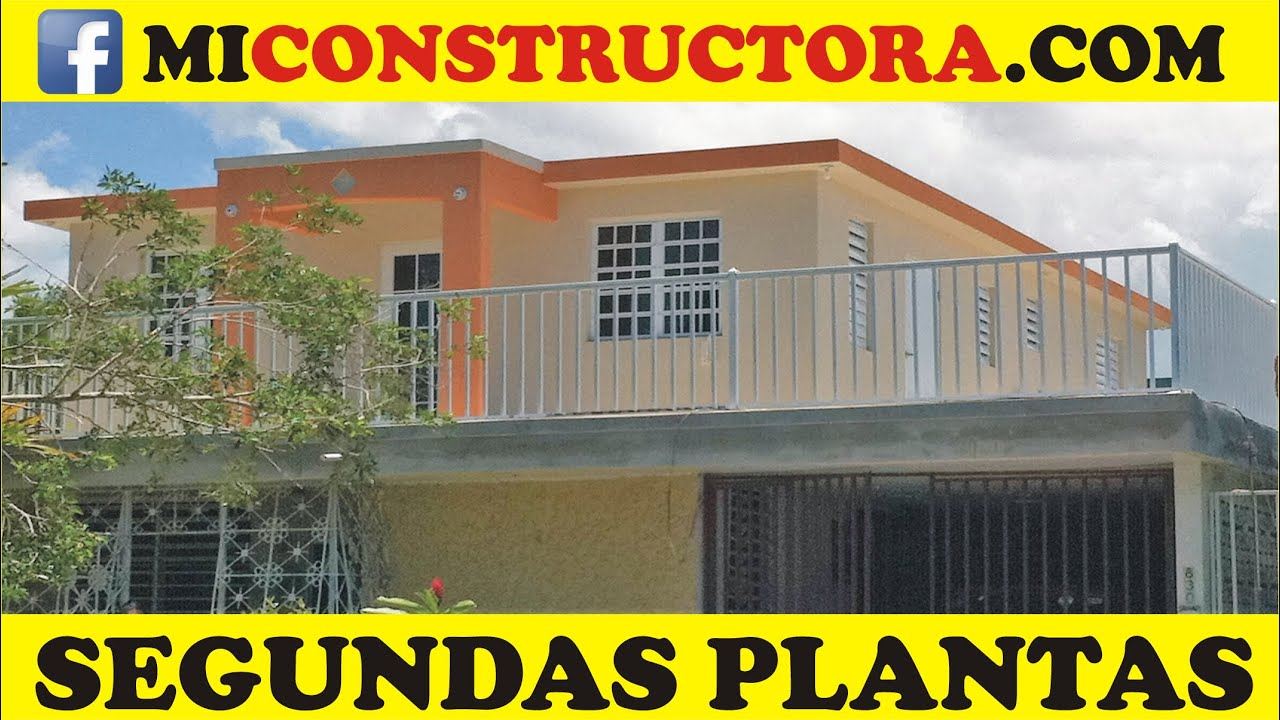 203k segundas plantas construccion casas puerto rico youtube for Construccion casas