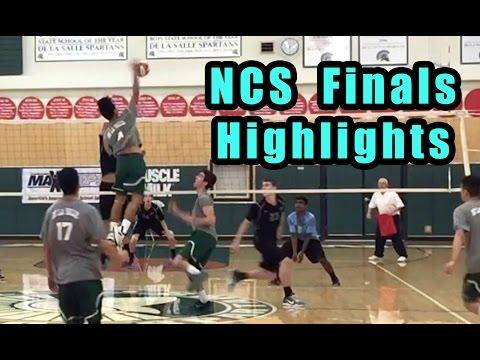 Dougherty Valley vs De La Salle (HIGHLIGHTS) - NCS 2016 Boys Volleyball Division 1 Finals