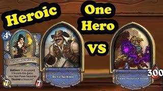 Tekahn, Plague Lord of Flame vs Solo Reno Jackson