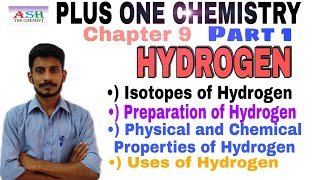 Download Mp3 HYDROGEN Plus One Chemistry Chapter 9 Part 1 All the important points