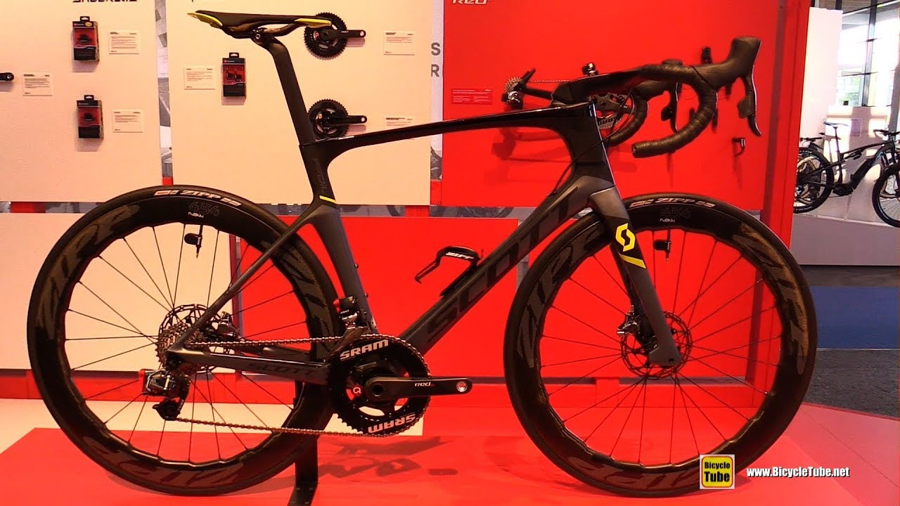 2019 Scott Foil Team Alistair Brownlee Race Bike Walkaround 2018