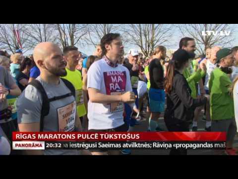 Rīgas maratons pulcē tūkstošus