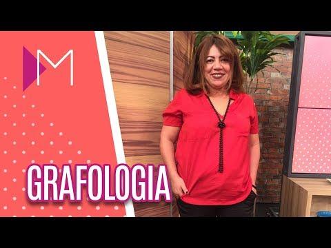 Grafologia - Mulheres (31/08/2018)