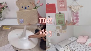 [Vlog5] 직장인 브이로그/인테리어소품/자취방 꾸미…