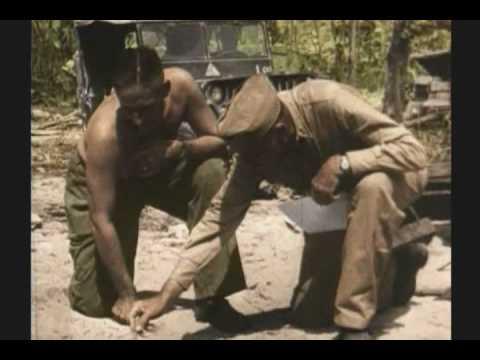 WWII PALAU  3 OF 3 RARE COLOR FILM
