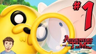 Adventure Time: Finn & Jake Investigations Gameplay Walkthrough - PART 1 - Treehouse!