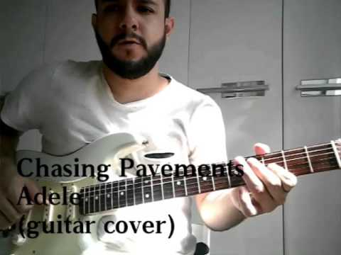 Chasing Pavements - Guitar cover - YouTube
