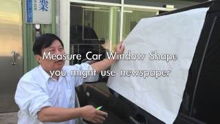 Static Cling Solar Film for Car