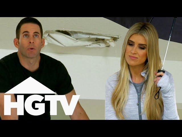 Christina And Tarek Spend $12,000 On Fixing A HUGE Leak   Flip Or Flop