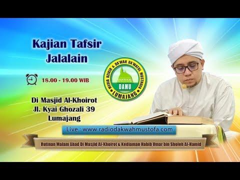 Kajian Tafsir Jalalain 2019-11-02 - Al-Baqoroh 128 - 129