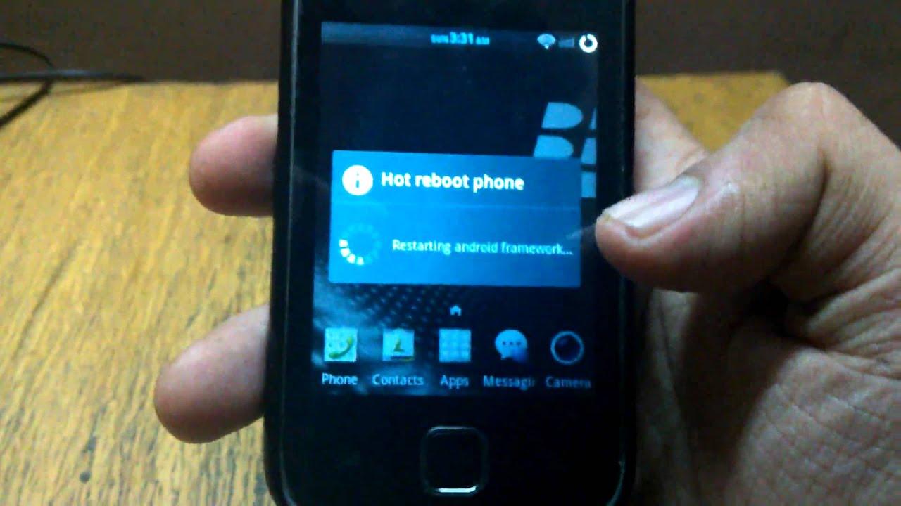 Hyperion X - XDA build for Samsung Galaxy Y