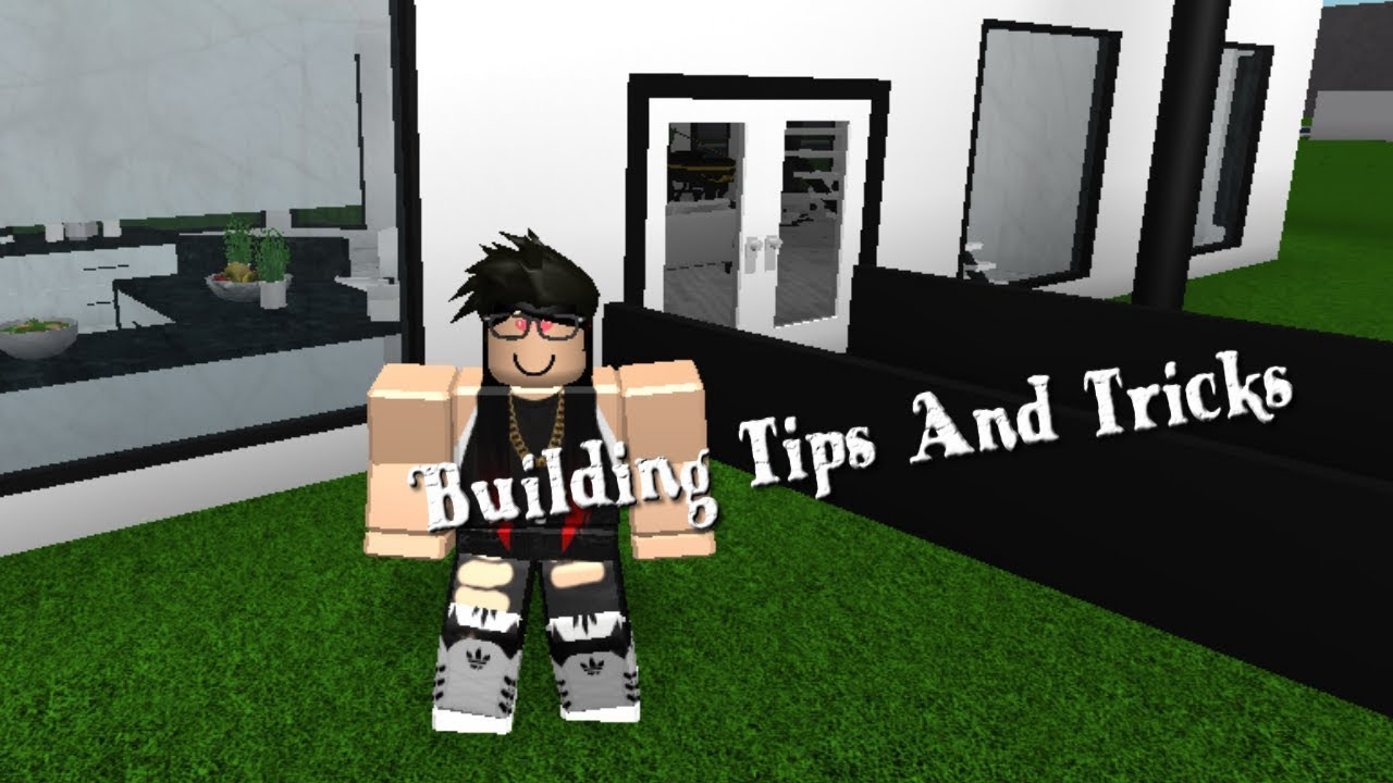 Building Tips And Tricks Bloxburg Youtube