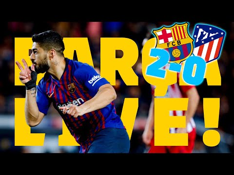 BARÇA - AT. MADRID (2-0) | BARÇA LIVE | Warm Up & Match Center
