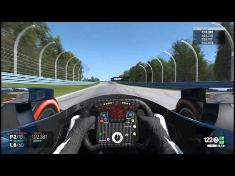 Project CARS: PCRA Indycar @ Watkins Glen GP | Chicks Dig the Long Game |