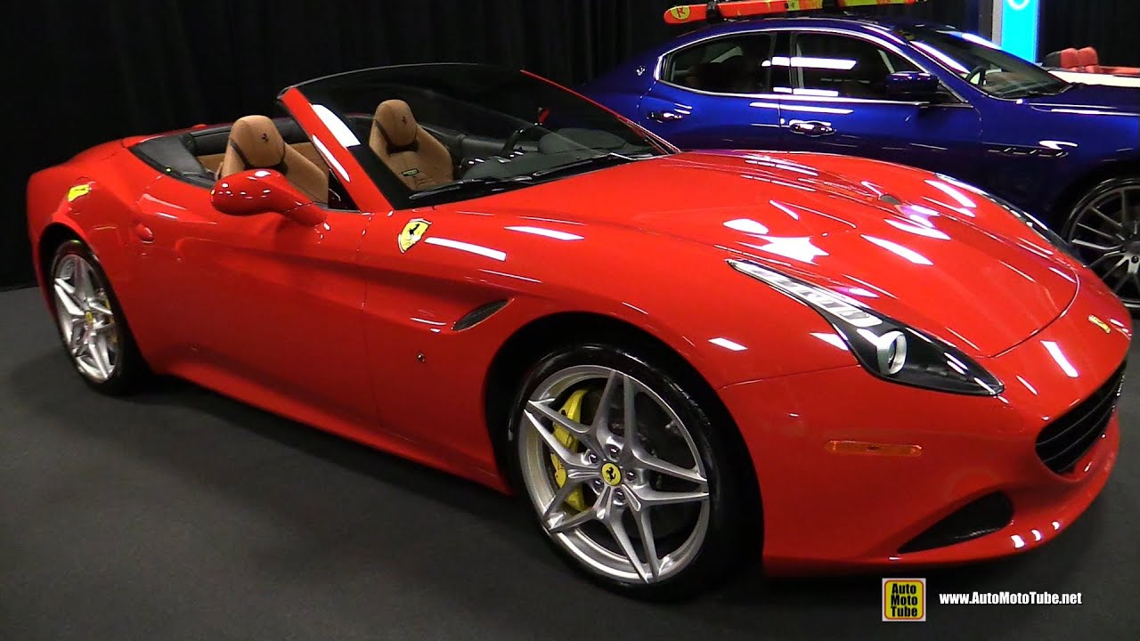 2015 Ferrari California T Covertible - Exterior and Interior ...