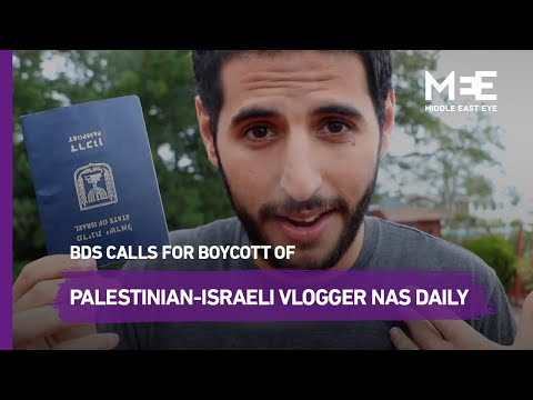 BDS Movement Calls For Boycott Of Palestinian-Israeli Vlogger Nas Daily