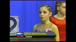 Aliya Mustafina at 11 years old