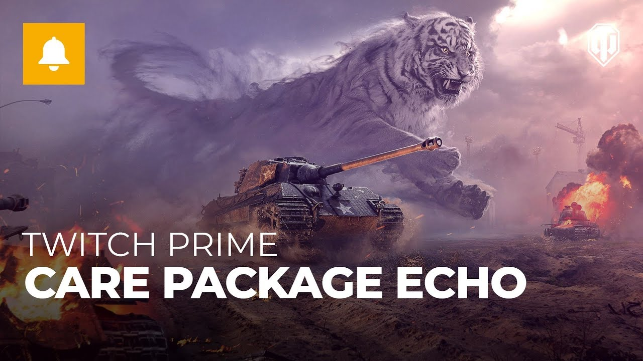 WoT – Care Package Echo with Twitch Prime – The Armored Patrol
