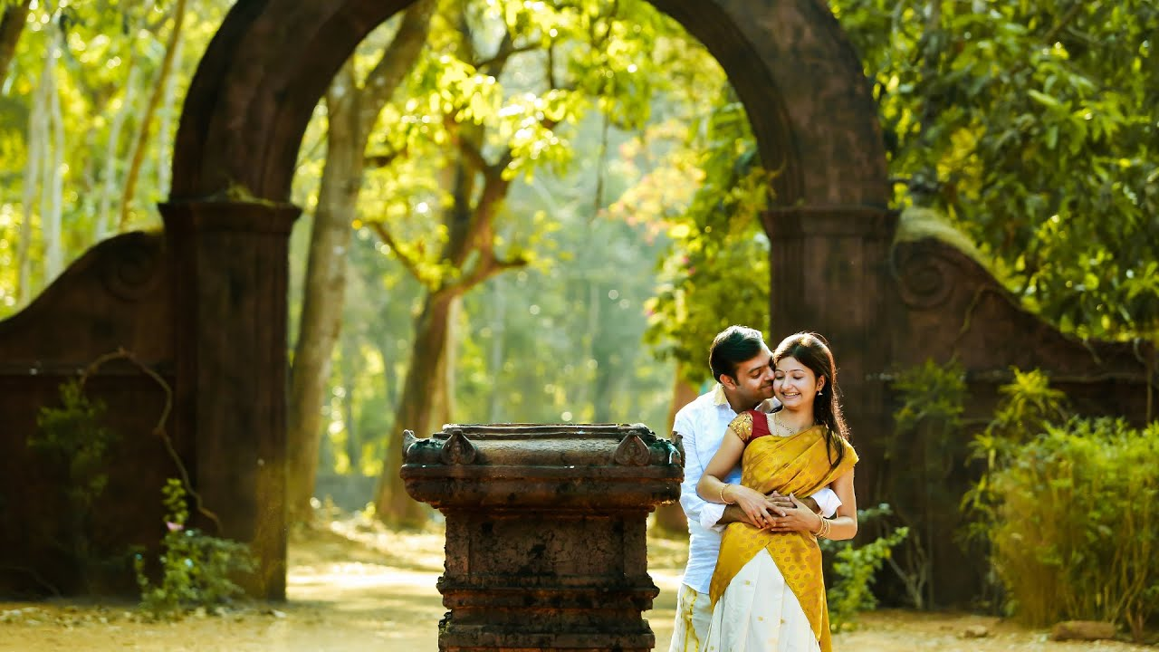 Wedding Outdoor Photography Kerala: Kerala Brahmin Wedding Highlights By Framehunt
