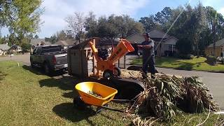 PowerKing PK0915 5in Wood Chipper