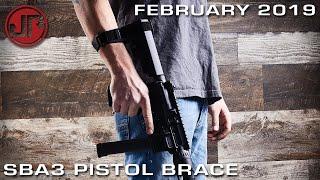 SBA3 Pistol Stabilizing Brace - New Product Showcase - FEBUARY 2019