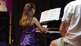 Invention in C Major by Bach (August 16, 2015) | Elena Santin