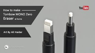 How to make Tombow MONO Zero Eraser Replica at home