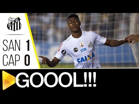Santos 1 x 0 Atlético-PR | GOL | CONMEBOL Libertadores Bridgestone (10/08/17)