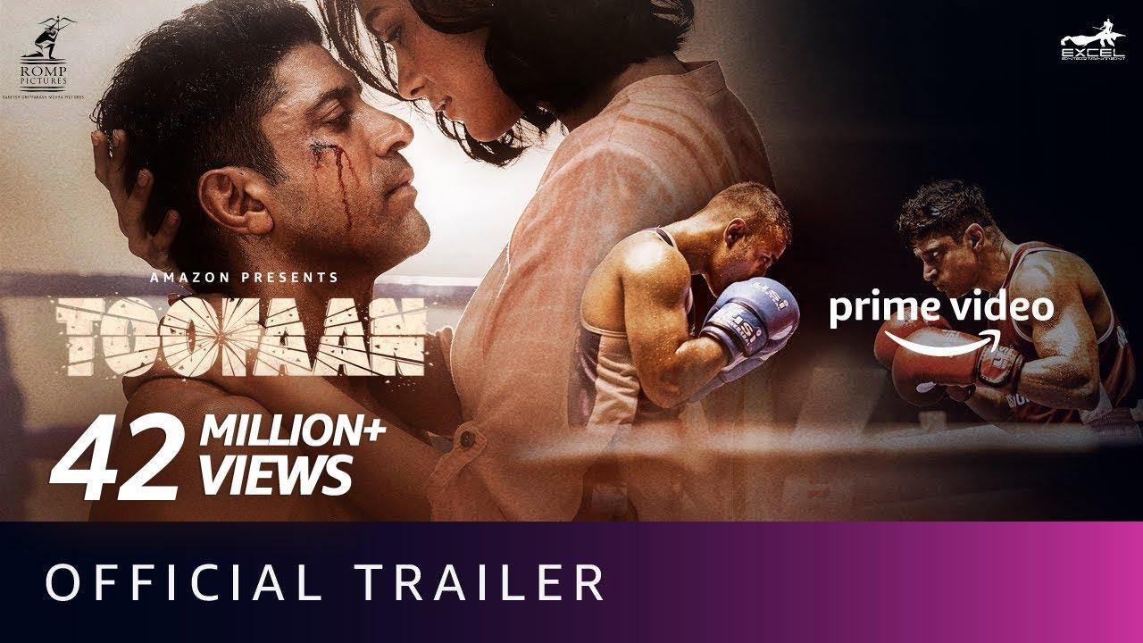 Download Toofaan - Official Trailer 2021 | Farhan Akhtar, Mrunal Thakur, Paresh Rawal | Amazon Prime Video