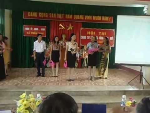 MÀN CHÀO HỎI - Cuộc thi đảng bộ nhân dân Xuân Phú chung tay xây dựng NTM