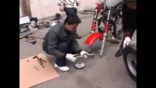 Відеоінструкція по збірці трицикла