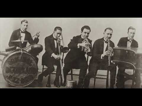 Dixie Jass Band One Step - Original Dixieland Jass Band - First Jazz Record! (1917)