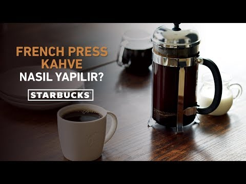 French Press Kahve Nasıl Yapılır? | Starbucks Türkiye