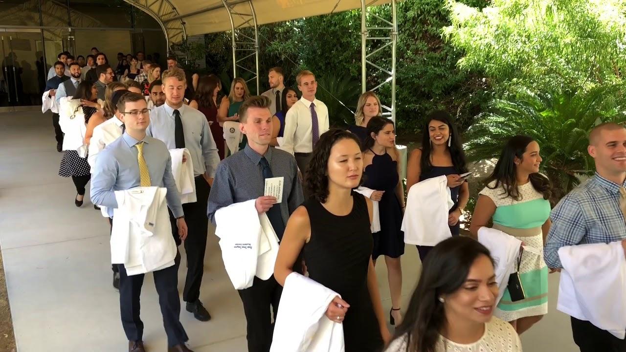 Touro University Pa Program >> Record Number Participate In Touro University Nevada White Coat Ceremony
