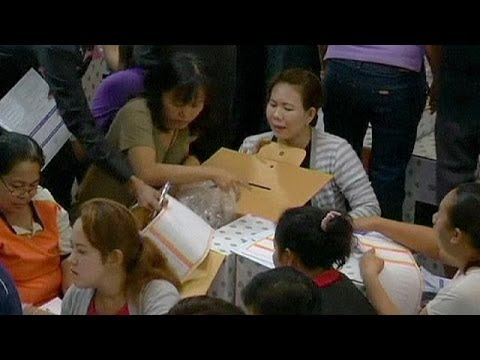 Thailand prepares for a tense election day on Sunday