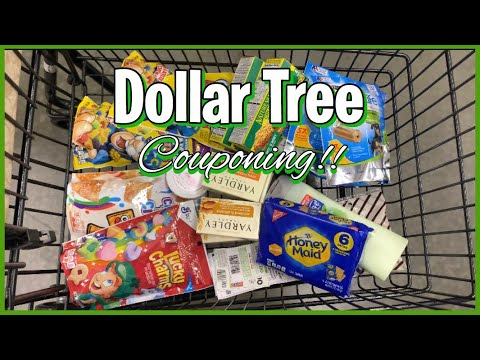 Dollar Tree Couponing | Trying Out Coupons & Redeeming iBotta Rebates! | Meek's Coupon Life