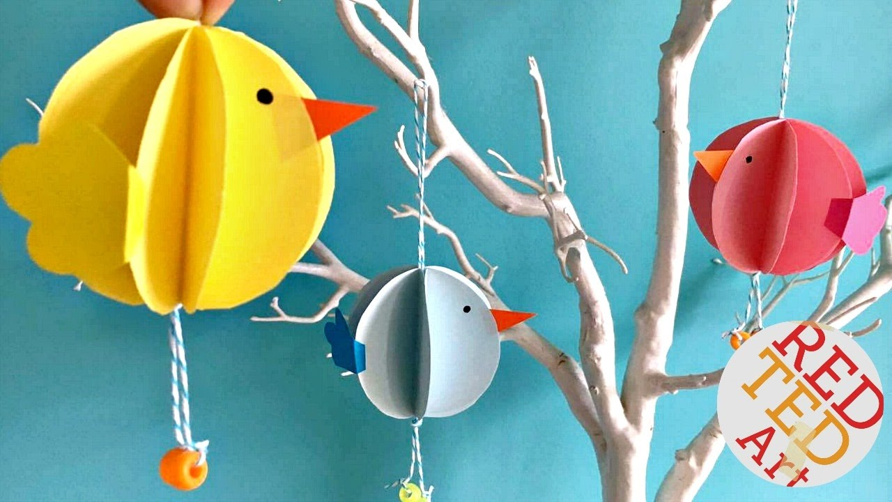 Spring Classroom Decorations To Make ~ Easy bauble chick ornaments diy easter spring