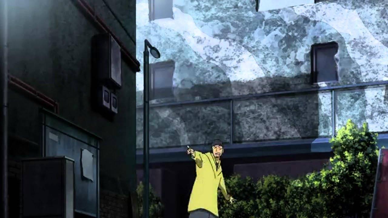 Make Your Own Hd Wallpaper Durarara Episode 3 Shizuo Heiwajima Vs Izaya Orihara