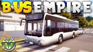 First Look : BUS EMPIRE! : Bus Simulator 18 Gameplay : PC Early Access
