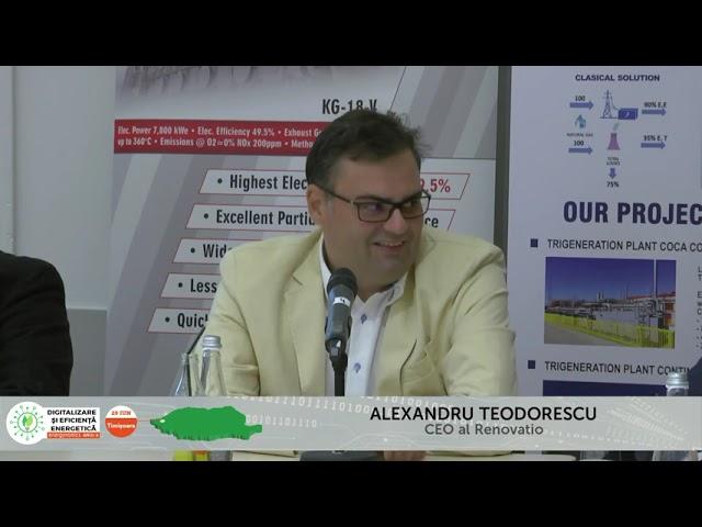 Alexandru Teodorescu Renovatio Digitalizare și Eficiență energetică – Timișoara