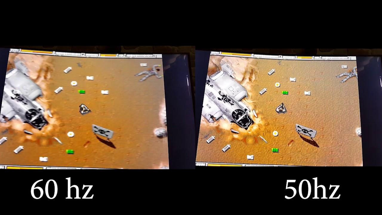 Gestion du mode 60/50 Hz sur Retropie Amiga/Amiberry