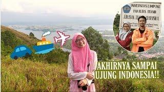 Perjalanan Ke Timur Indonesia!! Lampung - Papua 4000 km