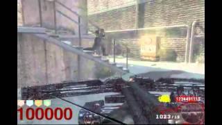 Black Ops-Zombies ronda 100000 y 1000000000 puntos