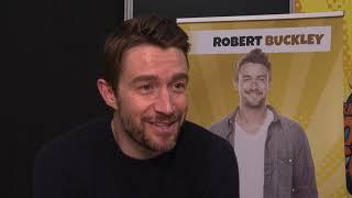 Robert Buckley Interview GERMAN COMIC CON 2019 Dortmund - iZombie