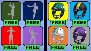 NEW! Get FREE Emotes + NFL Packages!!! (Roblox Event)