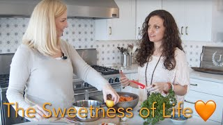 The Sacral Chakra..explore the sweetness of life as we create a luscious lemon herb carrot salad!